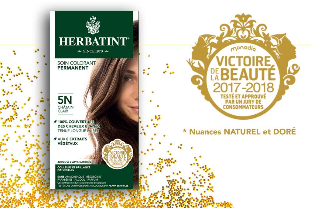 Herbatint荷碧汀 自然發色源于健康美發