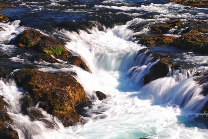 Bruarfoss 瀑布