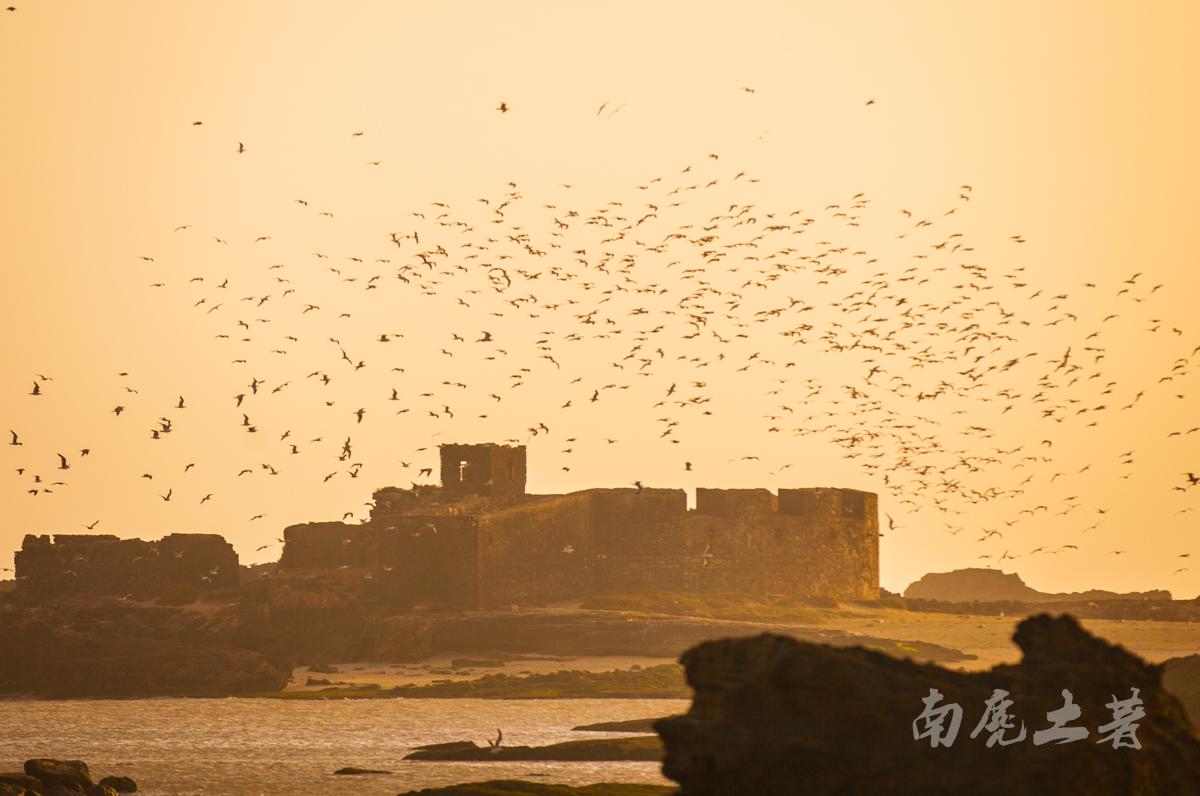 非洲有一个风城,最美的日落每天被大风吹过