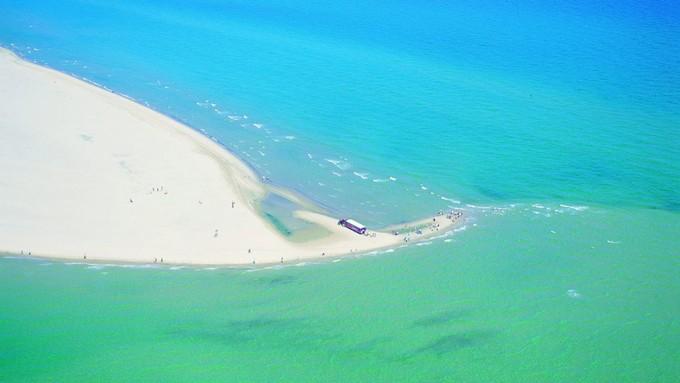 丹麦北部斯卡恩海滩