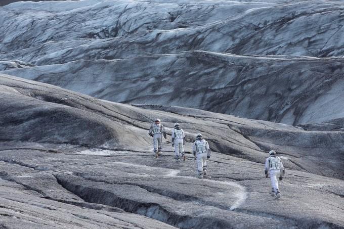 《星际穿越》在瓦特纳冰川取景