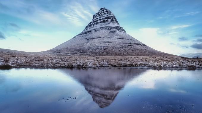 冬季草帽山