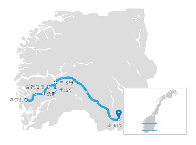 挪威缩影线路图