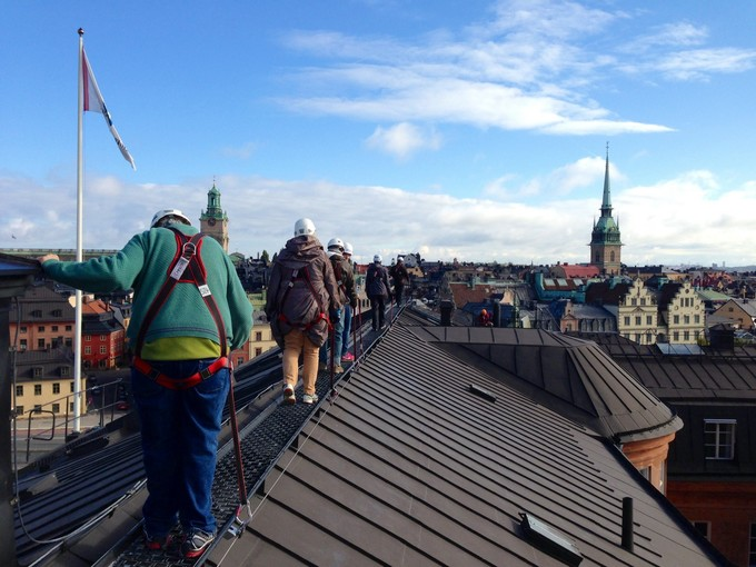 斯德哥尔摩屋顶徒步