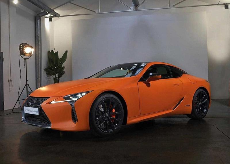 独特太空橙 雷克萨斯最新概念车官图发布