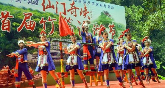 韶关仙门奇峡,要打造成广东第一竹筏漂流
