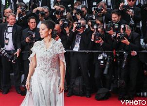 又是VPhoto,戛纳开幕式红毯照全球首发