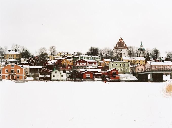 冬季波尔沃
