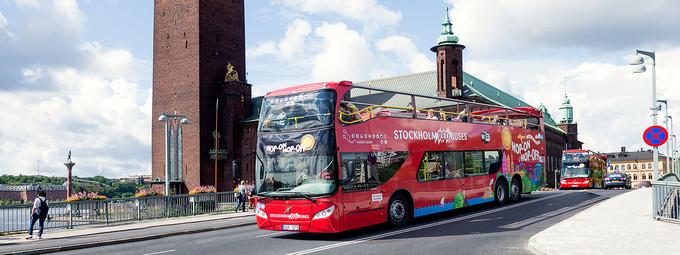 瑞典观光巴士
