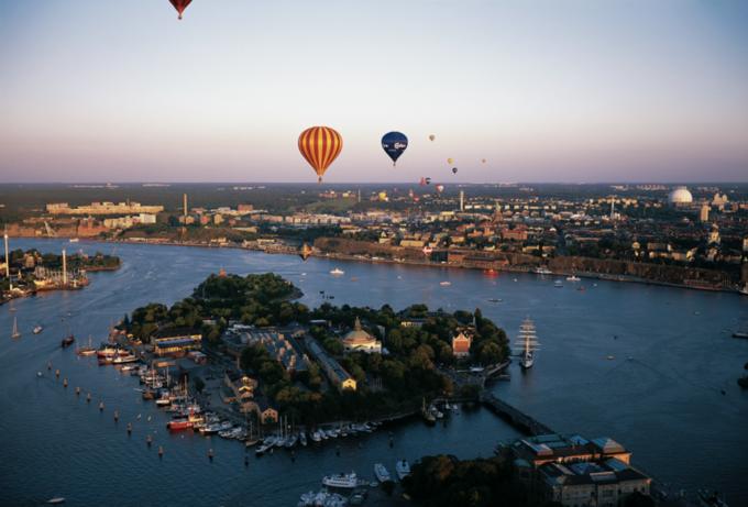 斯德哥尔摩热气球活动