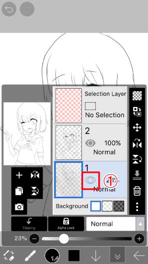爱笔思画X手绘教程之使用套索工具进行微调—手机绘画08