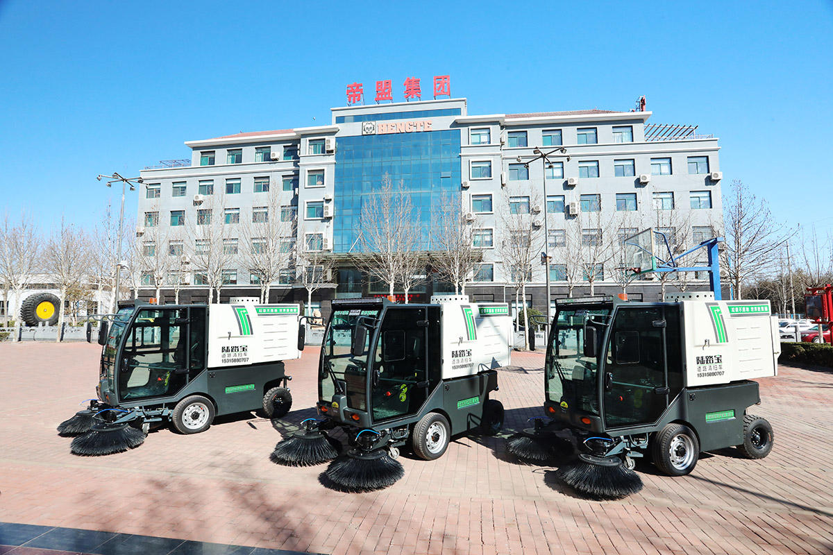 陆路宝扫地车的用途及市场需求介绍
