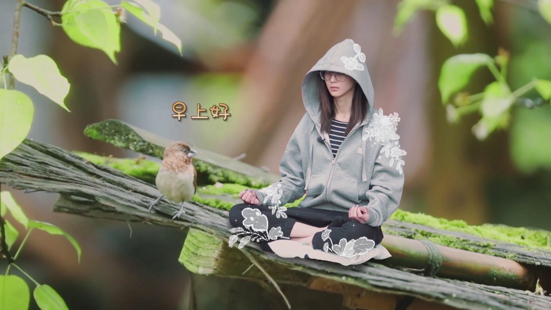 """张钧甯《向往的生活》纯素颜出镜 开启晨跑模式变身""""行走的闹钟"""""""