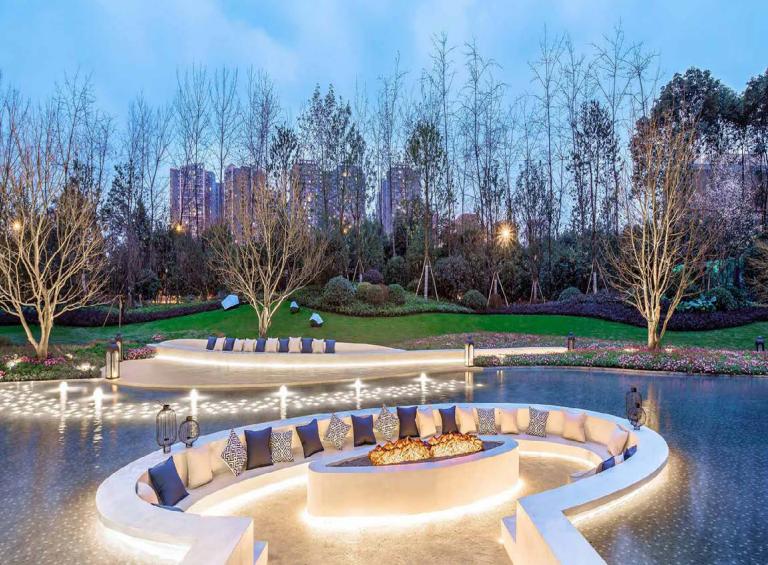中建天府公馆丨百亩园林胜景如林,敬献懂生活的你!