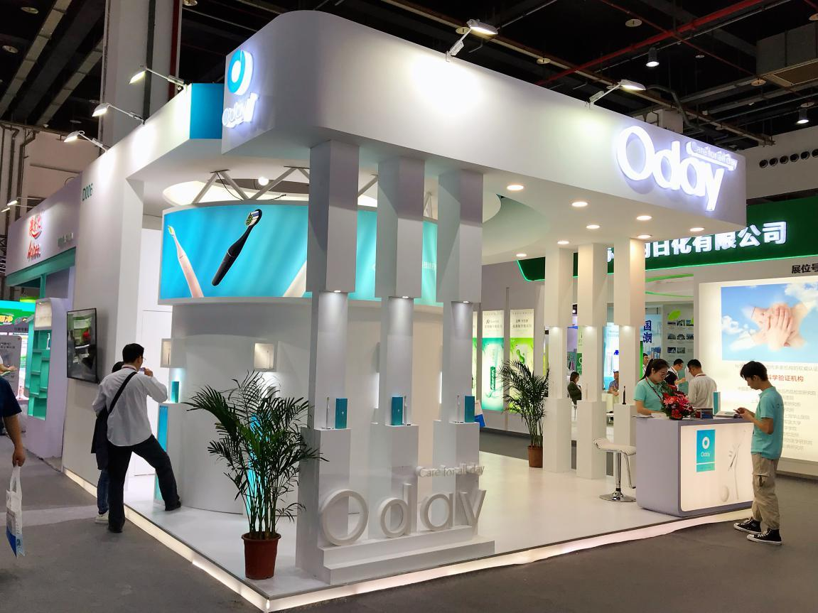 Oday电动牙刷系列产品惊艳亮相上海国际个护展