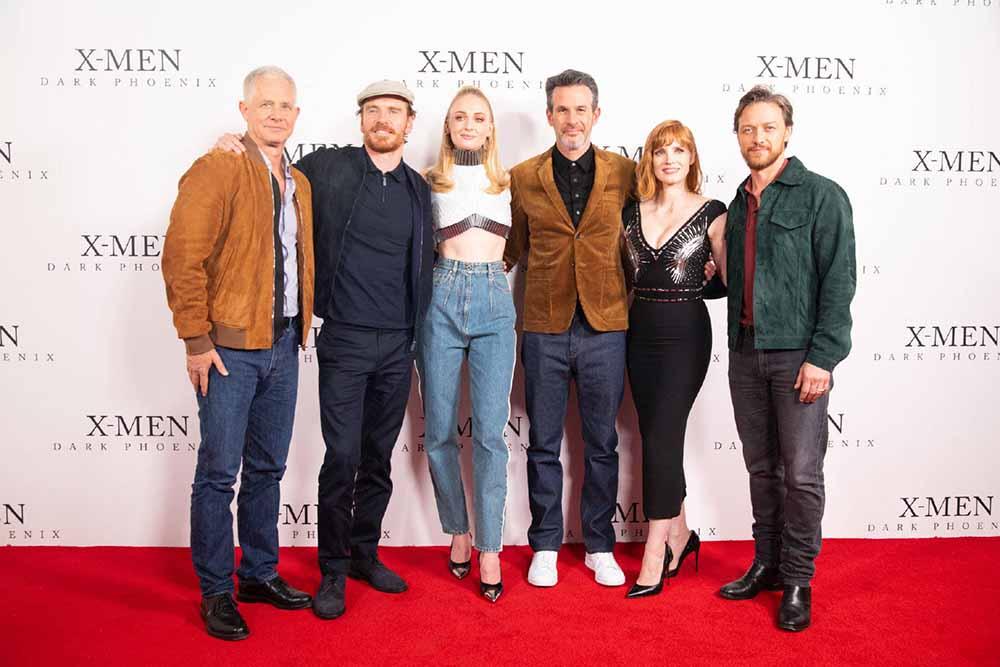 《X战警:黑凤凰》伦敦首映主创走心分享 正片片段口碑极佳引爆期待