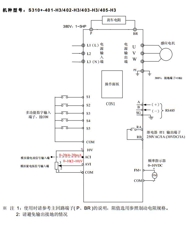 S310+接线图