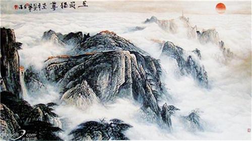 著名画家董全福与他的绘画艺术