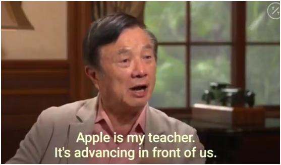 任正非接受美媒专访:反对任何报复苹果公司的行为的照片 - 6