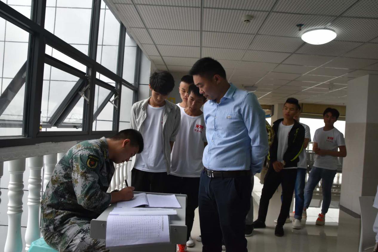 贵州应用技术职业学院2019年大学生预征体检工作正式启动