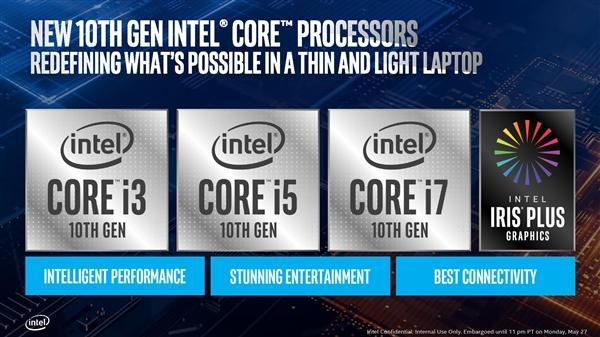 Intel正式发布十代酷睿:10nm终于达成的照片 - 1