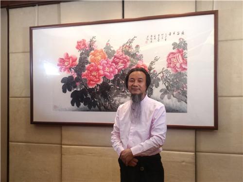 翰墨丹青,艺术向善:艺术家金晓海画展暨爱心义卖活动在义开幕