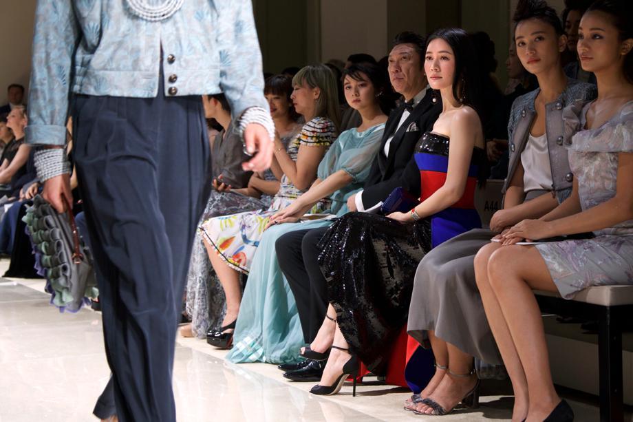 田海蓉时尚之巅诠释东方女性之美