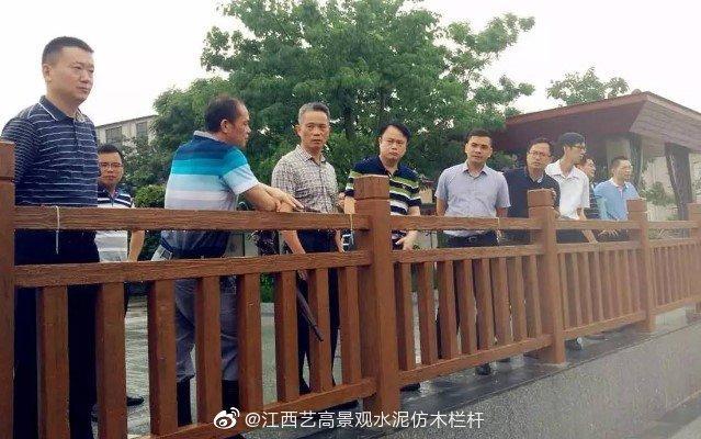 安庆河道T型仿木栏杆施工图
