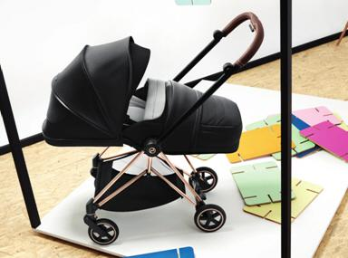 CYBEX家族:從鉑金到黃金嬰兒車