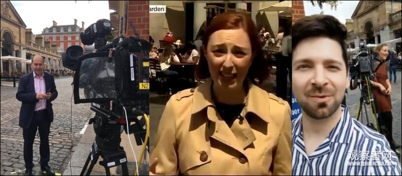 华为助力英国首个5G新闻直播 流量太大BBC措手不及的照片 - 2