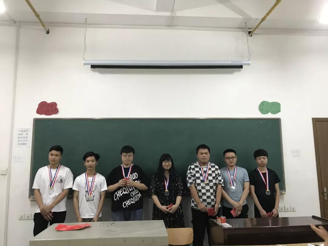 武汉工程大学工商1703、1704班表彰大会