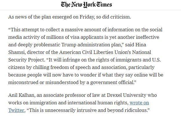 想去美国,先要被美国政府审查QQ和微博账号?的照片 - 7