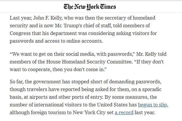 想去美国,先要被美国政府审查QQ和微博账号?的照片 - 8