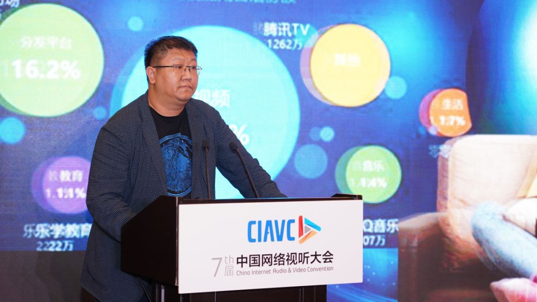 捷成华视网聚总裁张明:内容创新大屏生态 媒体纵横共享发展