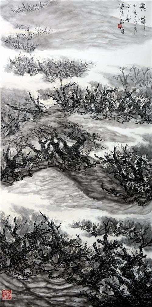 當代著名畫家張凌超藝術賞析