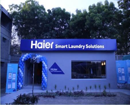 """""""随手拍""""海尔:巴基斯坦旁遮普大学里的海尔智慧洗衣机"""