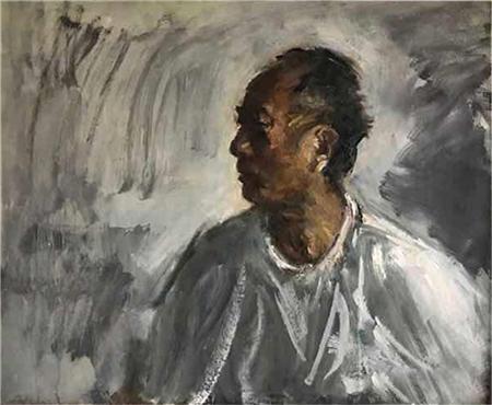 油画名家李毅元印象