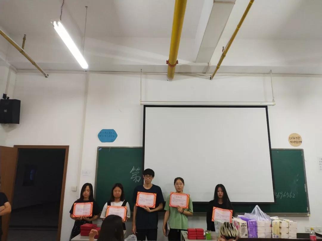 武汉工程大学工商1801、1802班表彰大会