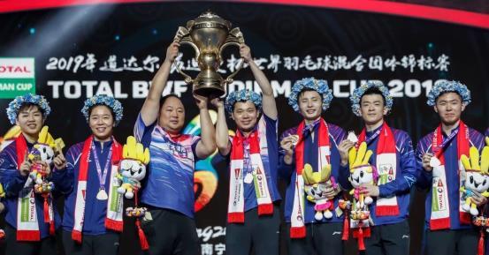 中国队第十一次问鼎苏杯 见证国羽杨威南宁