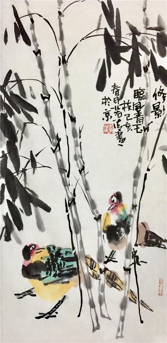 外刚内秀 放达心性——大写意花鸟画家李若清