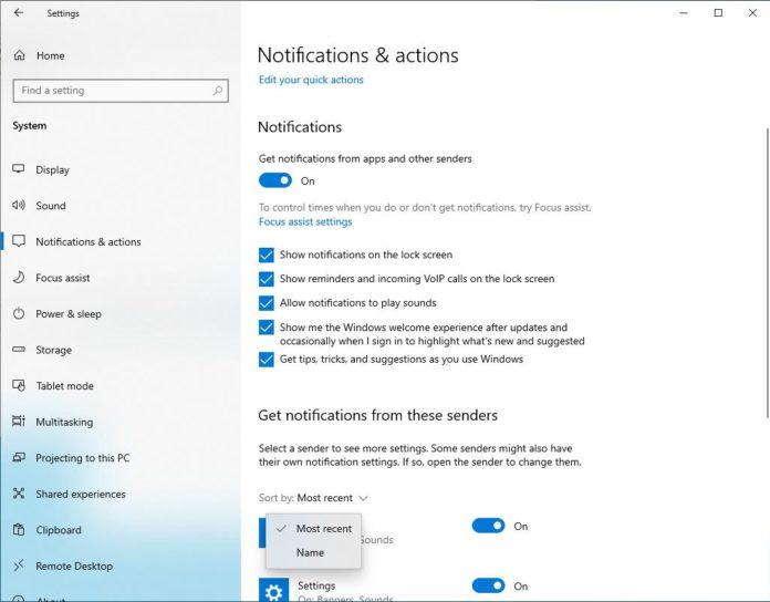 微软为Win10 20H1测试新的功能的照片 - 2