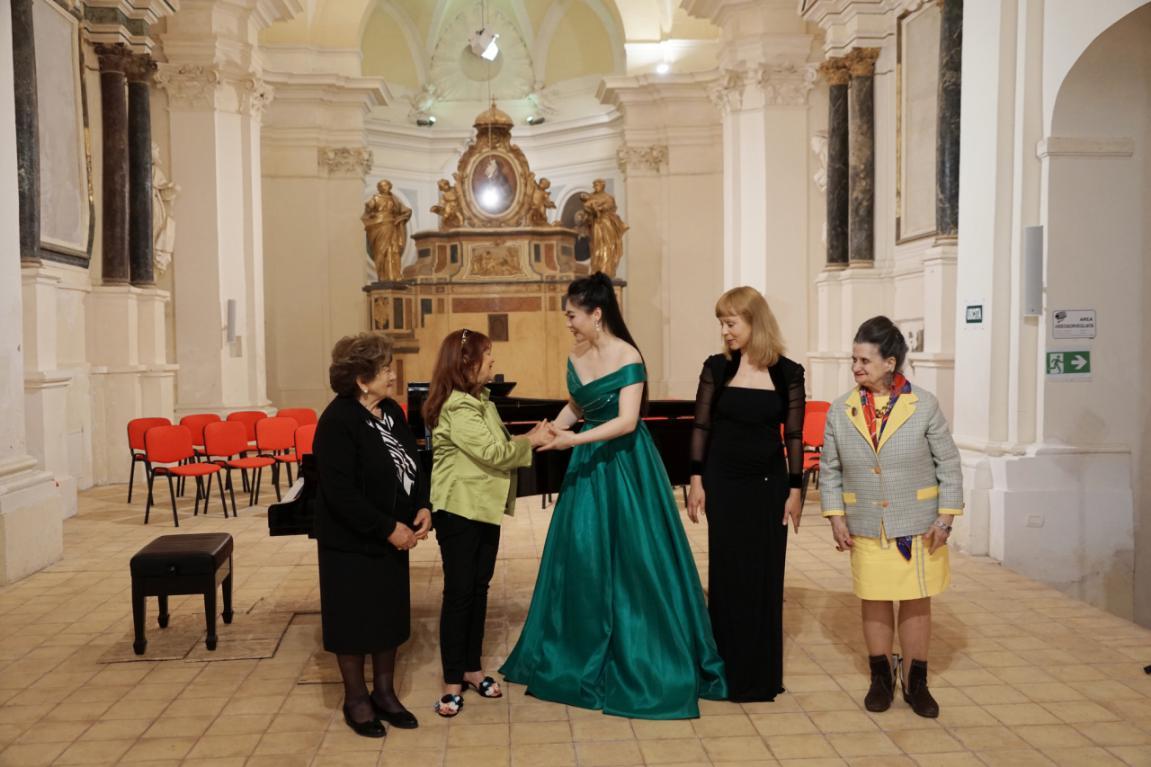 徐瑞阳个人独唱音乐会唱响意大利第八届彭内国际音乐节