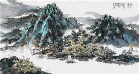 2019年最具收藏潜力画家:汤洪泉
