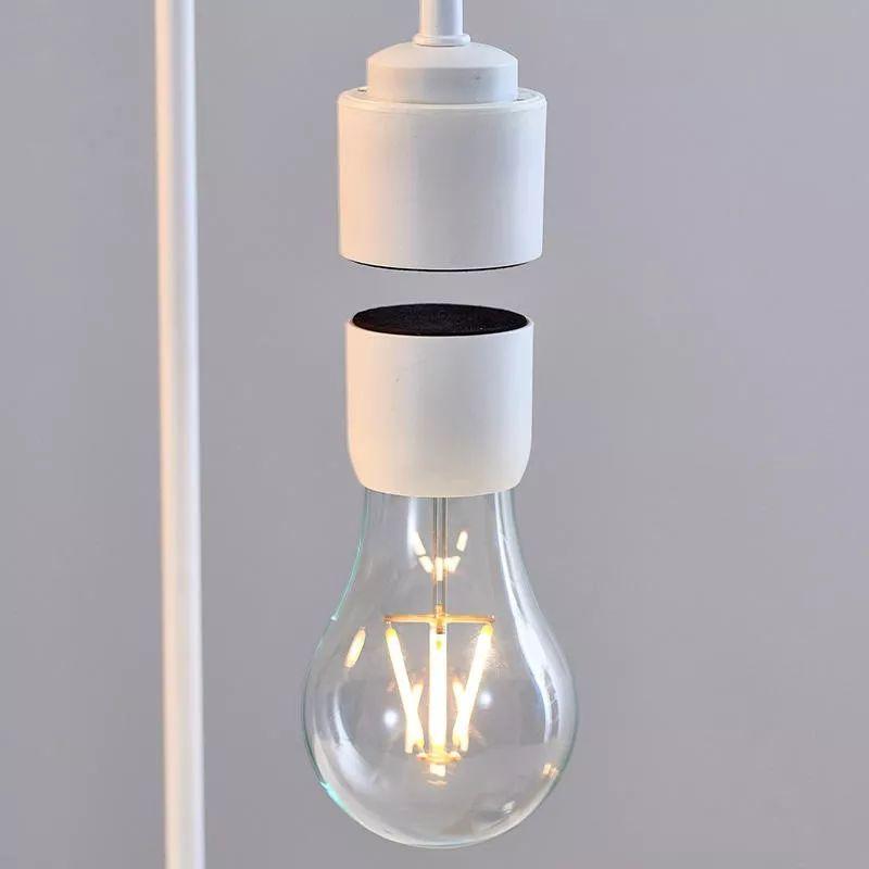 自带悬浮魔术的神奇台灯,它能让灯泡飘在空中发光