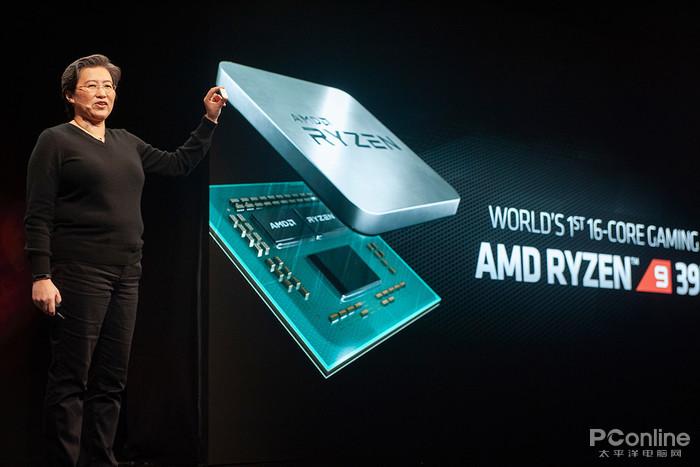 AMD大秀新品:16核锐龙、NAVI显卡,7nm工艺两开花