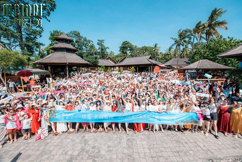 """臻爱·美丽发现 美啦美""""二千人超级团队""""赴巴厘岛邂逅最美的自己"""