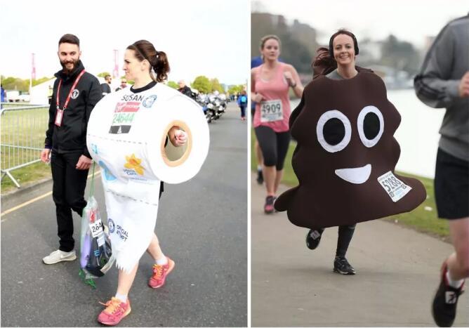 """一大波""""戏精""""向你跑来!全程高能的伦敦马拉松(含名额套餐)"""