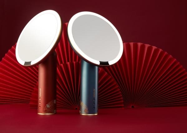 AMIRO和故宫文化推出联名化妆镜,传统美学与现代科技的交融