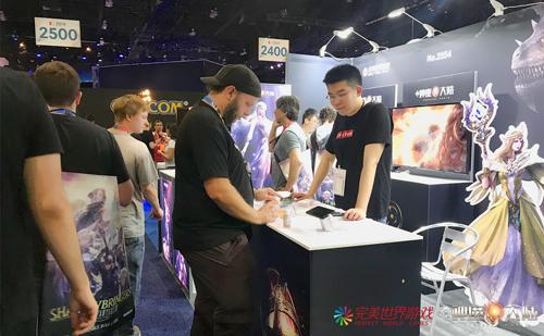 中国制造的魔幻大世界亮相E3,《神魔大陆》手游颇受好评