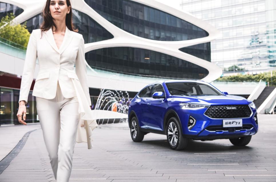 """引领轿跑SUV发展方向,哈弗F7x更懂""""90""""后!"""